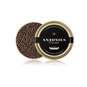 Siberian sturgeon caviar...