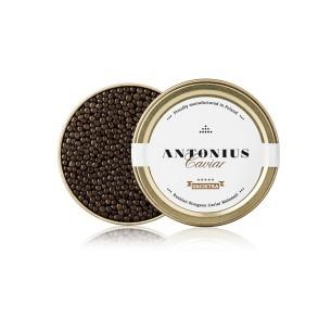 Russian sturgeon caviar...